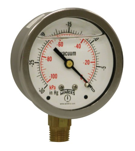 vacuum gauge hg stainless - 9