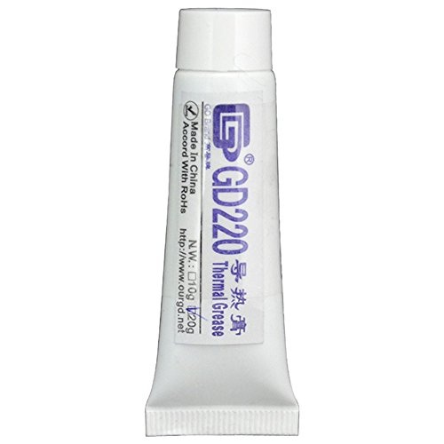 20g Gray Thermal Grease CPU Heat Sink Compound Silicone Paste Tube NO. GD220 Gray