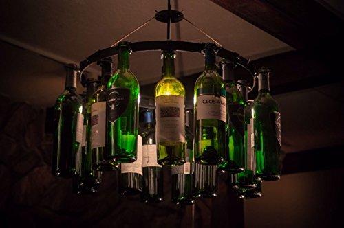 Wine Bottle Chandelier Pendant Type