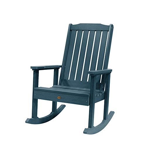 Highwood AD-RKCH1-NBE Lehigh Rocking Chair, Nantucket Blue