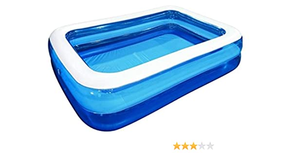 JILONG Piscina Rectangular Family Pool 2 m x 1, 5 m x 50 cm ...