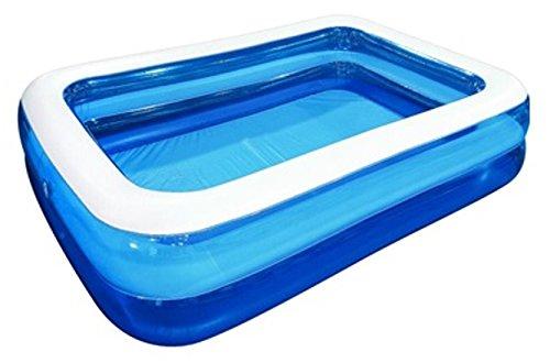 JILONG Piscina Rectangular Family Pool 2 mx 1,5 mx 50 cm Fortuna Piscina Hinchable