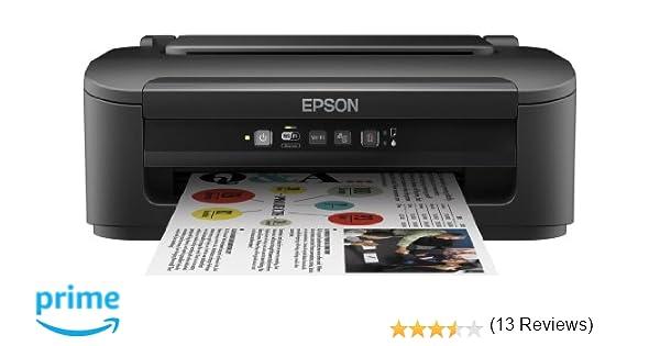 Epson Workforce WF-2010W - Impresora Color (inyección de Tinta, WiFi y Ethernet), Color Negro