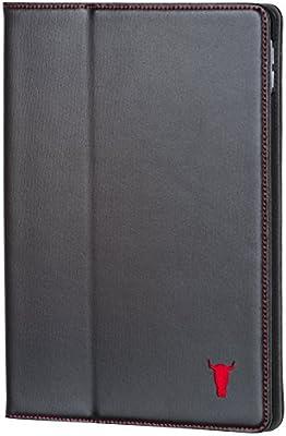 59dc923e51 iPad Mini 4 Case / Cover. Premium Black Cowhide Leather smart Case ...