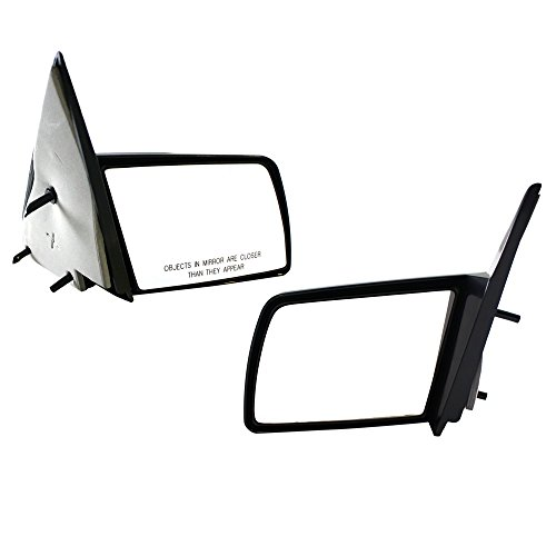 Left Right Mirrors - Titanium Plus 1988-1999 Chevy C1500 Left Right Pair DOOR MIRROR SPORT TYPE MANUAL,WITH OUT FOLDING