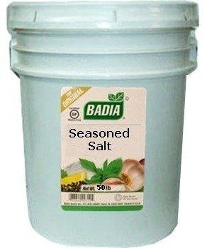 Badia Seasoned Salt 50 lbs