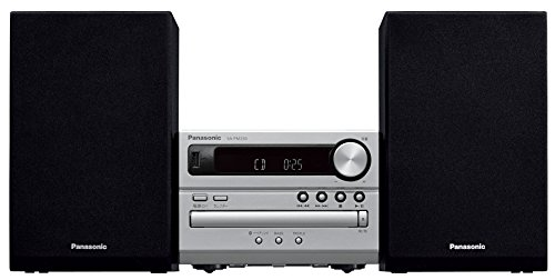 Panasonic CD stereo system USB Memory / Bluetooth correspondence Silver SC-PM250-S - Panasonic Professional Speakers