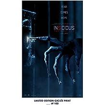RARE POSTER thick INSIDIOUS: THE LAST KEY movie 2018 REPRINT #'d/100!! 12x18