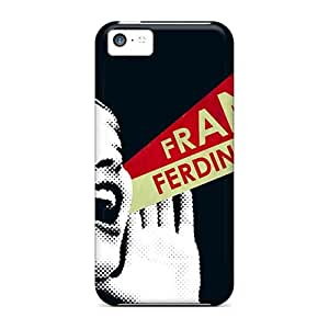 Iphone 5c QXh13872Ugmq Support Personal Customs High-definition Franz Ferdinand Band Skin Bumper Hard Phone Cover -SherriFakhry