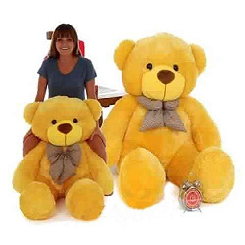 THAKURENTERPRISES 3 Feet Teddy Bear  Yellow Color    91 cm