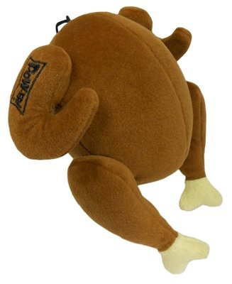 Lulubelles Power Plush Turkey Dog Toy (Large) by Lulubelles (Image #1)