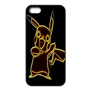 JenneySt Phone CasePokemon Pikachu partern For Apple Iphone 5 5S Cases -CASE-5