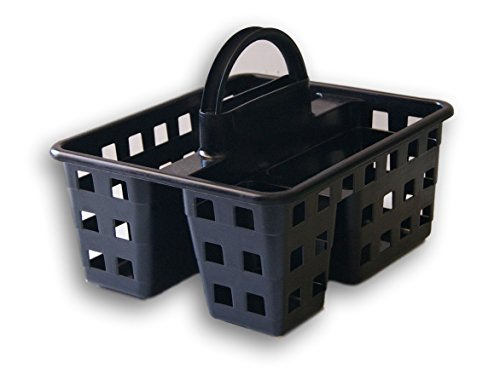 (Mainstay Small Utility Shower Caddy Tote (Black) )