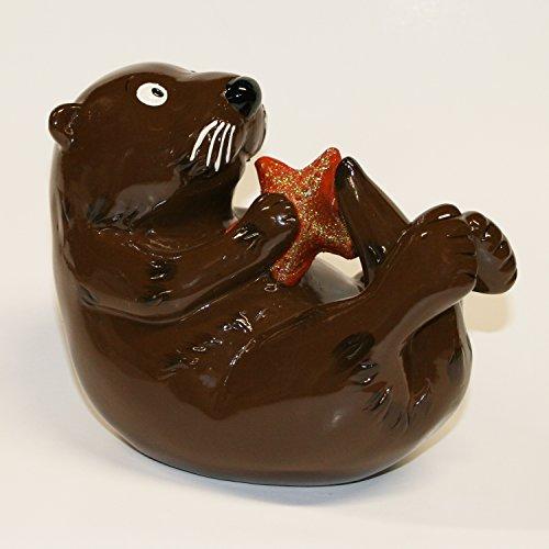 Sea Otter Coin Bank (Tigers Piggy Bank)