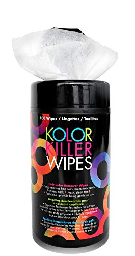 Framar Kolor Killer Wipes - Hair Dye Remover, Hair Color Remover - Wipes Dispenser of 100