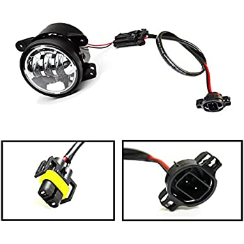 amazon com ijdmtoy 2 led fog lamps conversion adapter wires for rh amazon com