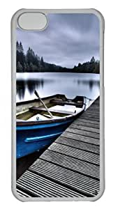 iPhone 5C Case and Cover -Beautiful Place PC case Cover for iPhone 5C Transparent