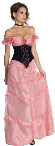 Secret Wishes Kiss Of Death Dress, Pink/Black, (Kiss Of Death Costume)
