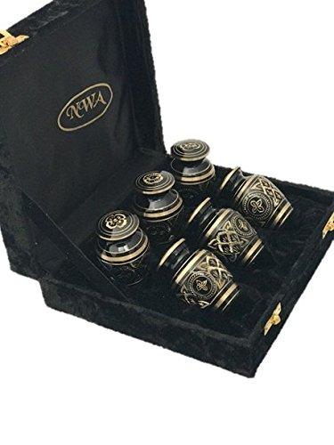 urns set of 6 - 9