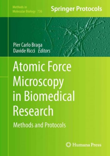 Atomic Force Microscopy In Biomedical Research Methods And Protocols  Methods In Molecular Biology  Atomic Force Microscopy In Biomedical Research