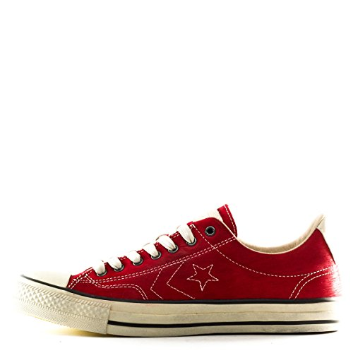 Converse Unisex Star Player (Converse ADULT JOHN VARVATOS STAR PLAYER OX Red 8)