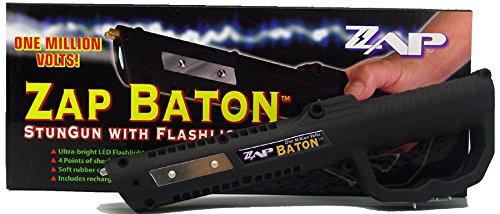 Ps Products Zap With Light Zapbaton Stun Gun 1000000 Volts