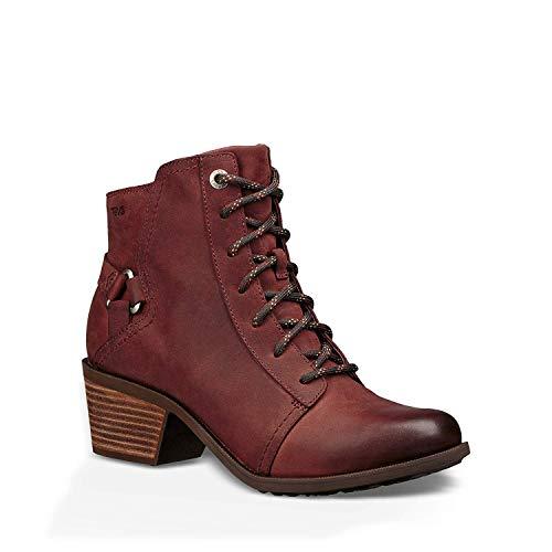 Agqpq1wp 6 Teva Foxy Redwood Boot Casual Lace Waterproof Women's 5 Ig6Y7ybvf