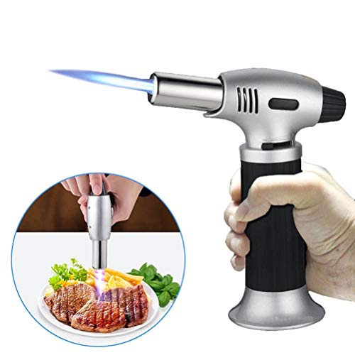 Refillable Gas Butane Blow Torch Micro Jet Lighter Culinary Solder Cooking Baking Chef Tool Iron Heating Blowtorch Brazing