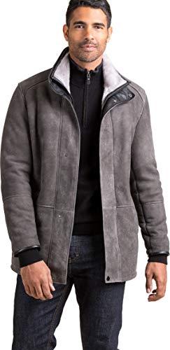 (Lucas Spanish Merino Shearling Sheepskin Coat )