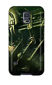 High Quality MichaelTH Dark Skin Case Cover Specially Designed For Galaxy - S5