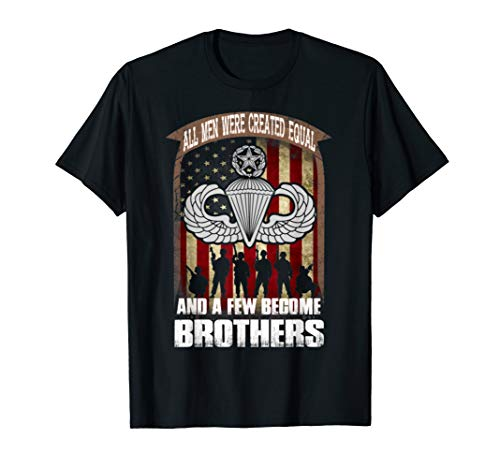 U.S. Paratroopers We Are Brothers (Master Wings) T-Shirt