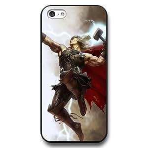 MMZ DIY PHONE CASEUniqueBox Customized Marvel Series Case for iphone 6 plus 5.5 inch, Marvel Comic Hero Thor iphone 6 plus 5.5 inch Case, Only Fit for Apple iphone 6 plus 5.5 inch (Black Hard Case)