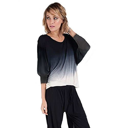 Young, Fabulous & Broke Jasmin Top Extra Small Black Ombre