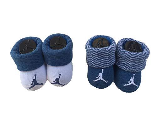 (Nike Air Jordan Baby Boy's Booties Socks Size 0-6 Months Baby Gift Set)