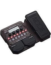 Zoom Procesador A1X de cuatro instrumentos acústicos multiefectos con pedal de expresión, modelado acústico, bucle, sección de ritmo, para guitarra, saxofón, trompeta, violín, armónica y bajo vertical