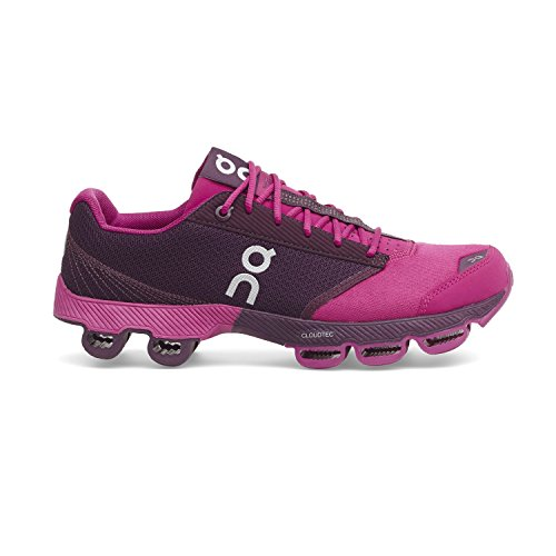 On Cloudster Running Shoe   Womens Magenta Berry 8