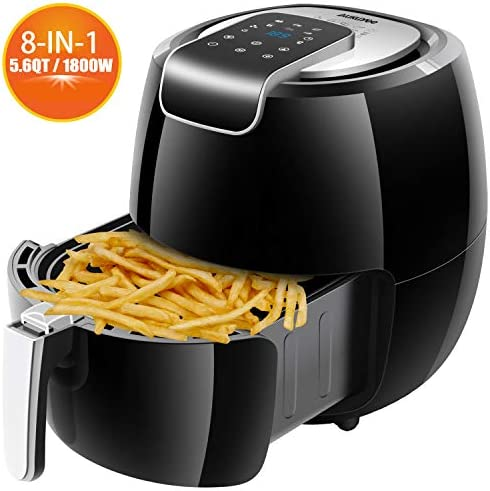 Air Fryer Accessories, AUKUYEE for 5.8 qt XL Air Fryer, Fits for Power AirFryer, Fit 4.5 qt to 5.8 qt and Larger