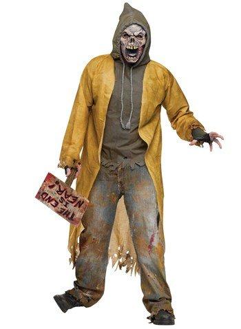 Street Zombie Adult Costume -