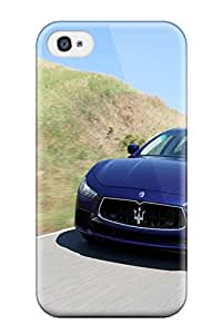 Hot FJkUPQS817fqbRk Maserati Ghibli 31 Tpu Case Cover Compatible With Iphone 4/4s