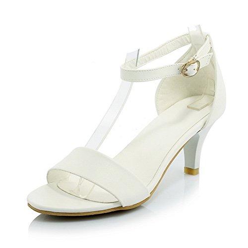 Adee , Damen Sandalen, Weiß - weiß - Größe: 38