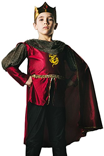 Kids Boys King Arthur Halloween Costume