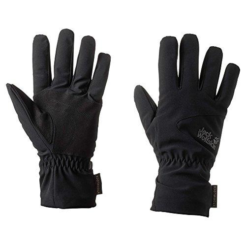 Jack Wolfskin Storm Lock High Loft Gloves, Medium, Black