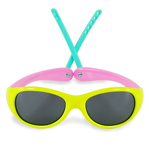 Boys Girls Kids 0-3 Years Old Toddler Polarized UV Protection Sunglasses NSS0701 - Sunglasses Store Online