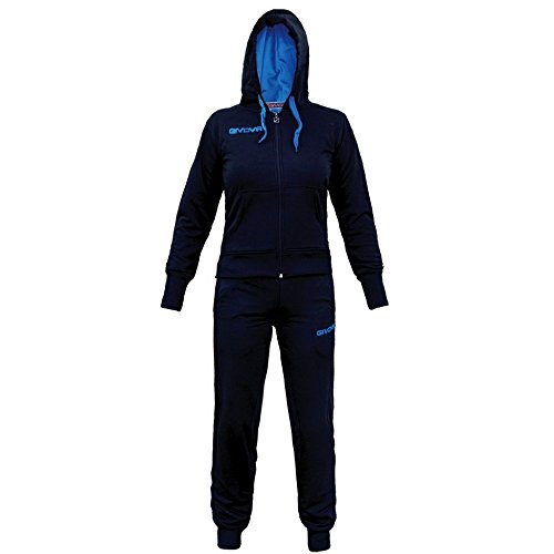 (Givova, Suit Lady, Blue/Turquoise, XL)