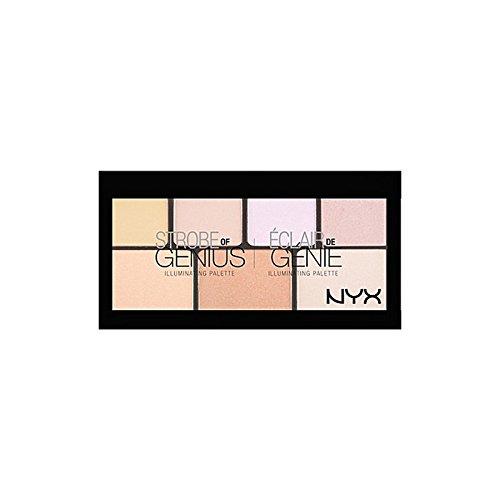 天才パレットの化粧品ストローブ x4 - Nyx Cosmetics Strobe Of Genius Palette (Pack of 4) [並行輸入品] B072L3Z9PV