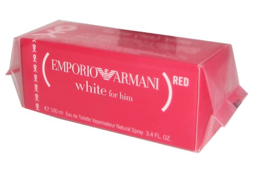 Emporio Armani White - Emporio Armani White for Him (Red) by Giorgio Armani 100ml 3.4oz EDT Spray