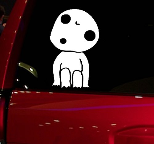 Auto - Sticker - Decal - PRINCESS MONONOKE - ONE CHARACTER - for car, truck, suv, window, glass, notebook, skateboard, laptop, computer, macbook, folder, etc. (Playstation Princess Snow)