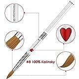 100% Kolinsky Sable Nail Brush, Hermounas Acrylic