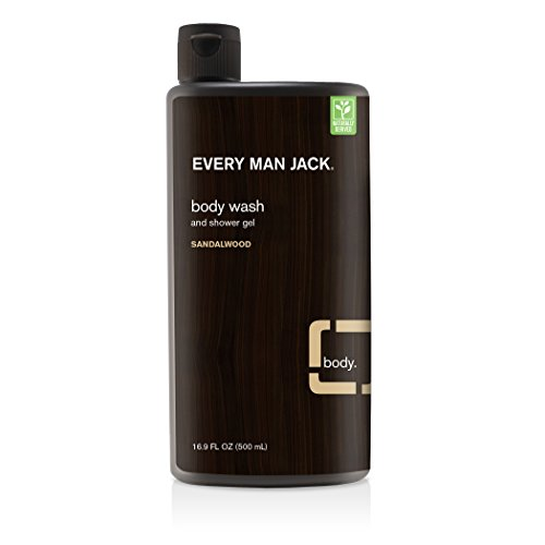 Every Man Jack Body Wash (Every Man Jack Body Wash, Sandalwood, 16.9 Fluid Ounce)