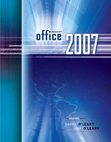 Microsoft Office 2007 (The O'Leary) Pdf
